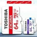 Бесплатная доставка Подлинная TOSHIBA MicroSD 64 ГБ карты Памяти SDHC Class 10 U1 Micro SD Tf Для телефонов tablet навигатор DVR + Пакет