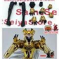 Clube de Metal Templo de Saint Seiya Shura Ex Mito Pano Santo Parte para Peixes Gêmeos Câncer Leão Libra Aquarius Figura