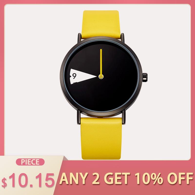SHENGKE de cuarzo relojes de moda de las mujeres de lujo creativo Montre Femme marca Relojes de Cuero Reloj, Reloj de Mujer