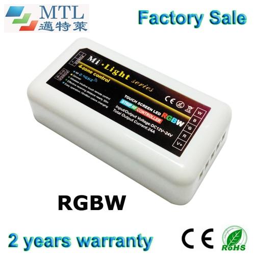 2.4G 4-zone RF RGBW şerit Mi-Light serisi için LED kontrol, 10 adet / grup, bir uzaktan maç çoklu kontrolörleri, fabrika toptan