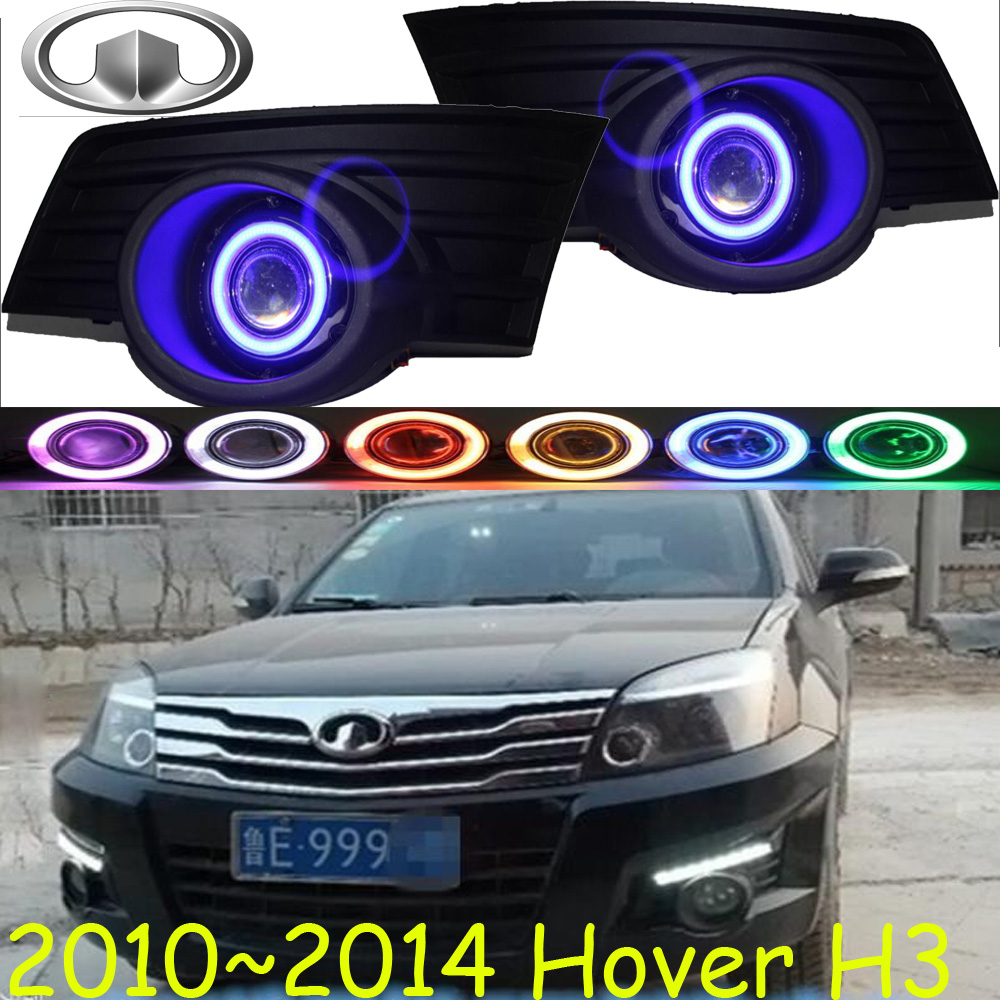 Great Wall Hover H3 fog light;2010~2014 Free ship!Hover H3 daytime light,2ps/set+wire ON/OFF:Halogen/HID XENON+Ballast,Hover H3 цена