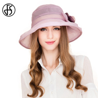 100 Mulberry Silk Ladies Derby Hats For Weddings Women Fascinator Fedoras Cute Light Purple Hats With