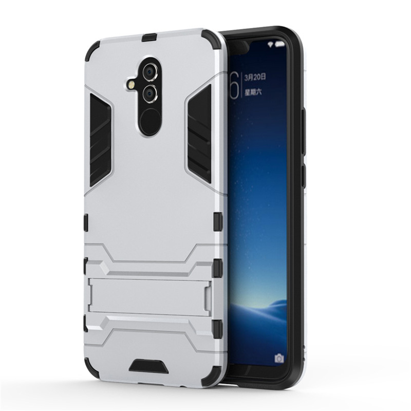For Huawei Mate 20 Lite Case Business Silicone Phone Bag For Huawei Mate 20 Pro Shockproof Stand Armor Cover For Huawei Mate 20