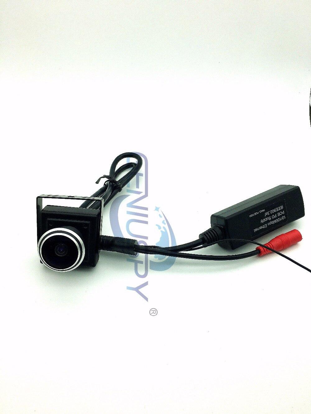 Vendita calda 1.0 Megapixel Hd Onvif Mini P2P Telecamera ip 1280x720 P HD Grandangolare 1.78mm Fisheye Lens POE Telecamera ip Per La Casa In MiniaturaVendita calda 1.0 Megapixel Hd Onvif Mini P2P Telecamera ip 1280x720 P HD Grandangolare 1.78mm Fisheye Lens POE Telecamera ip Per La Casa In Miniatura