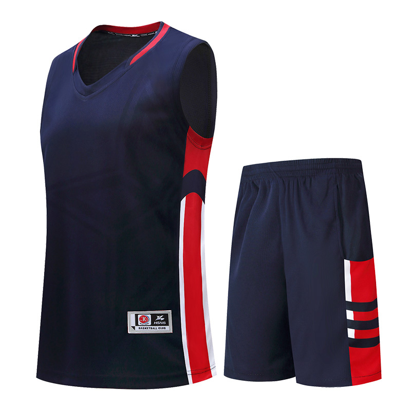 Mens Basketball Jersey Uniforms Shirt and Short Pants Suit DIY Sports Team Training Clothes Warm Up Jersey Breathable Plus Size