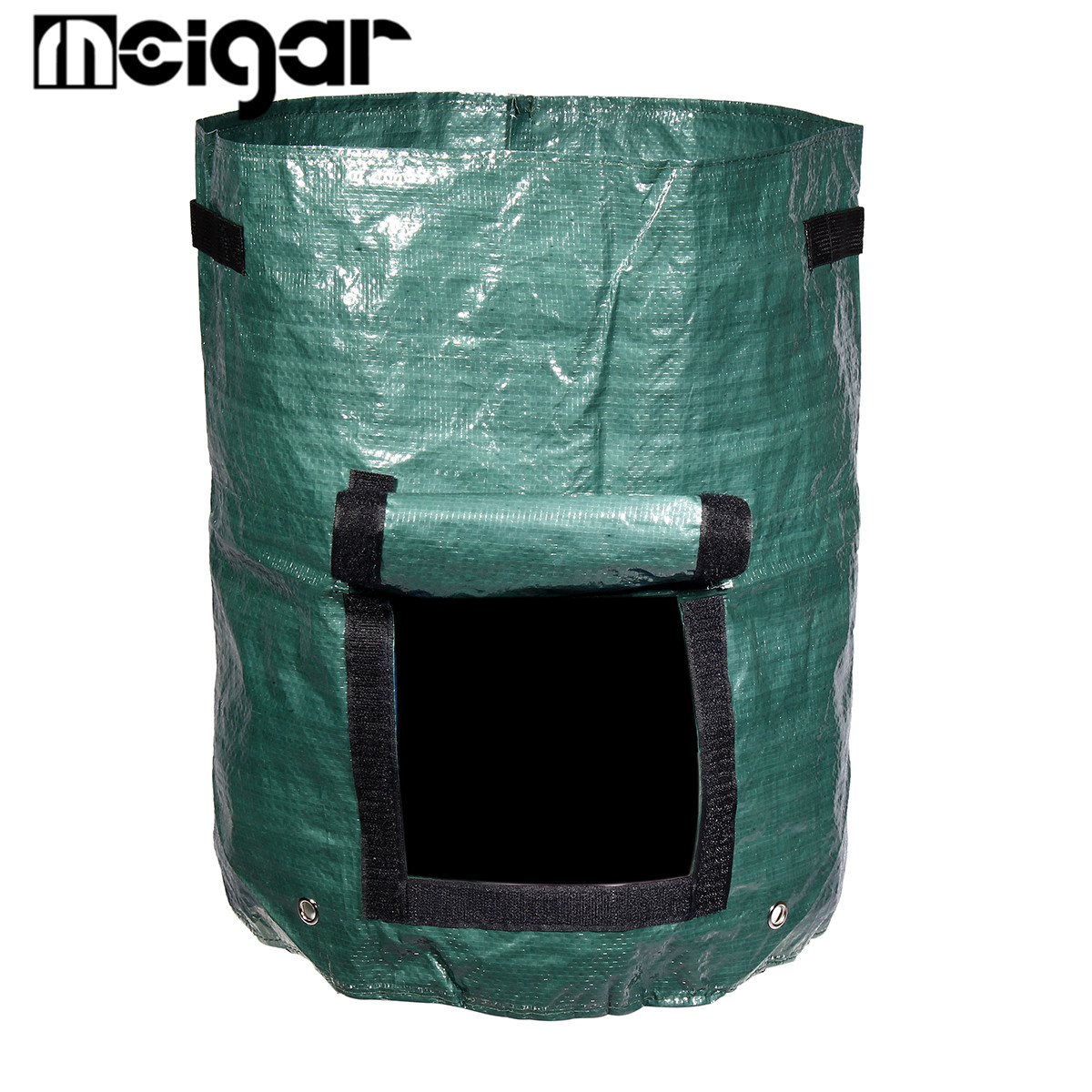 Kitchen Compost Bin Melons Leaves Homemade Organic Trash Can Outdoor ...