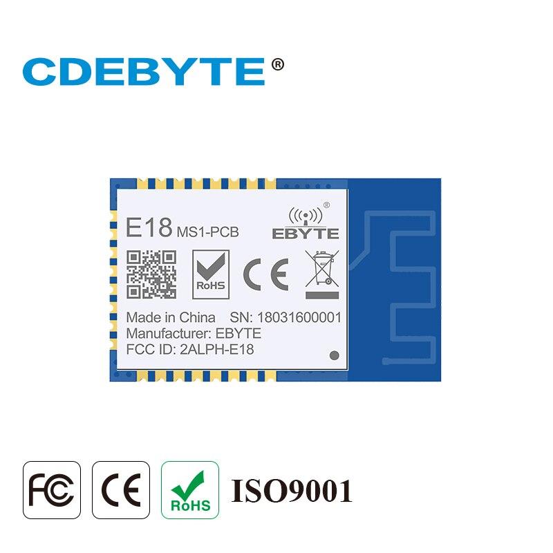 E18-MS1-PCB zigbee io cc2530 2.4 ghz 2.5 mw antena do pwb iot uhf malha rede sem fio transceptor transmissor módulo receptor