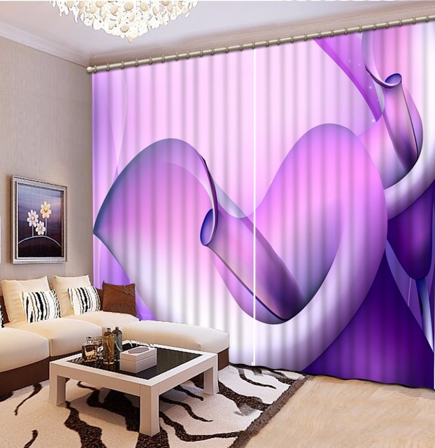 European Luxury 3D Window Curtains Blackout Curtains For Living Room ...