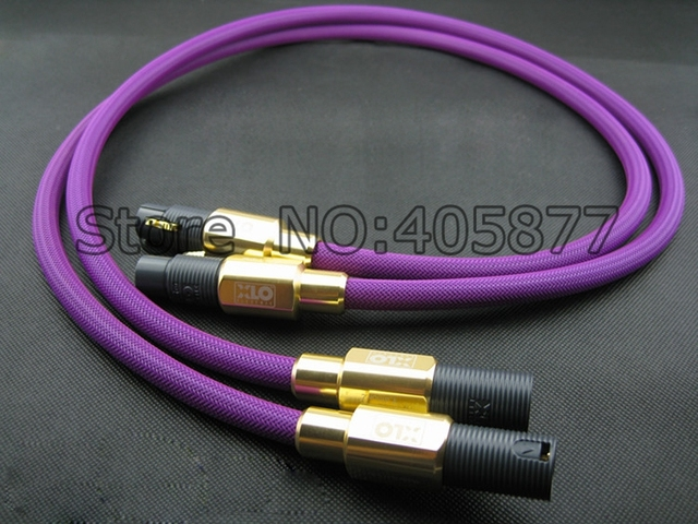 2019 xlo limited edition 2 digital cable xlr interconnect cables.