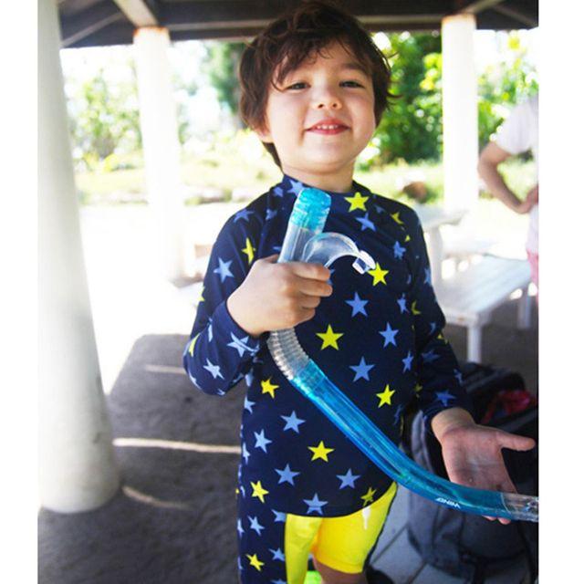 3 UNID Niños Niñas traje de Baño Set Con Sombrero Niños Trajes de Baño Del Niño Del traje de Baño Set Cabritos de La Manga Larga traje de Baño de Los Niños de lycra