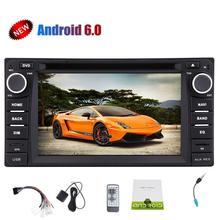 Android6.0 2 Din Car Stereo for Corolla 1080P Video Play Car Monitor DVD Player Mirorr Link  SWC Support WIFI/3G/4G/USB/SD/OBD2