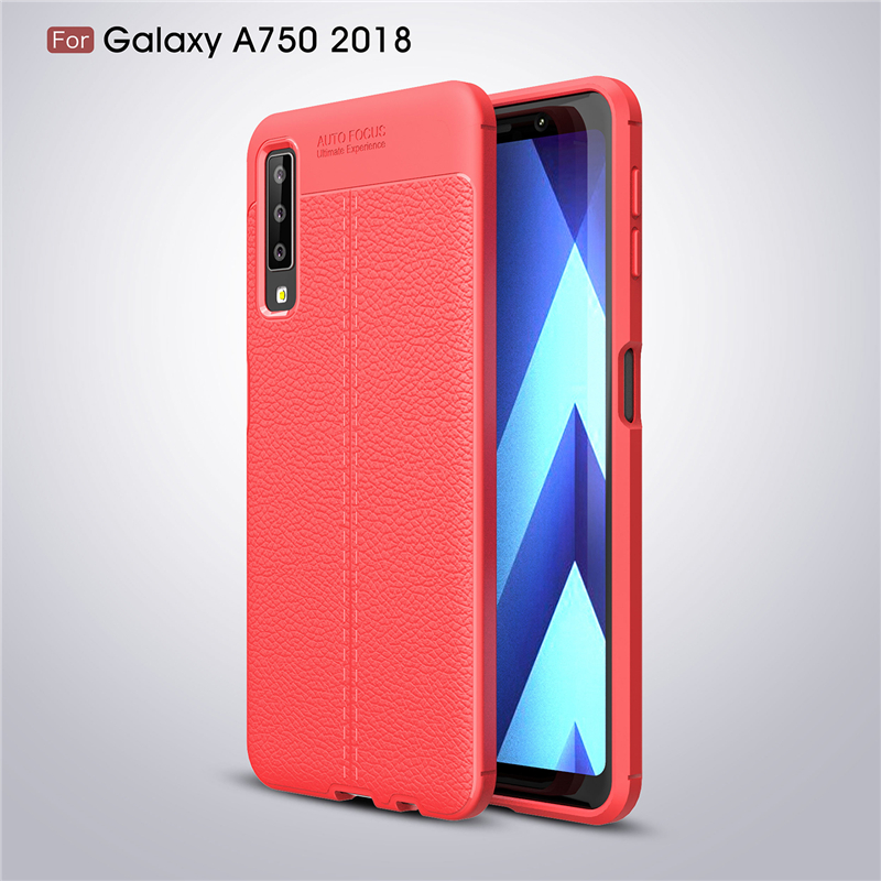For Samsung A7 2018 Case Luxury Soft Silicone Coque Phone Case For Samsung Galaxy A7 2018 Cover Coque For Samsung Galaxy A7 in Fitted Cases from Cellphones Telecommunications