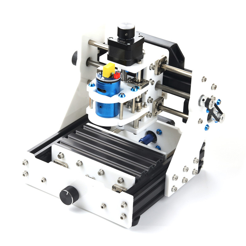 все цены на EleksMaker EleksMill 130x90x40mm Desktop DIY CNC Micro Laser Engraving Machine With 2500mw Laser Module