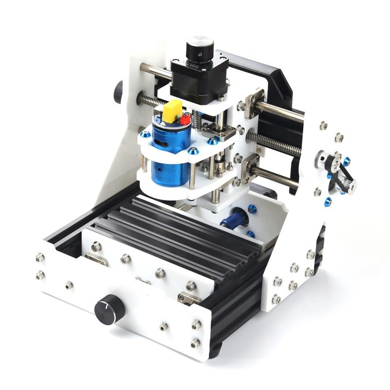 EleksMaker EleksMill 130x90x40mm bureau bricolage CNC Micro Machine de gravure Laser avec Module Laser 2500 mw