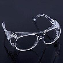 ברור משקפי בטיחות משקפיים אנטי להתיז השפעה עמיד עבודה בטיחות משקפי לבית רופא עיניים הגנה שקוף