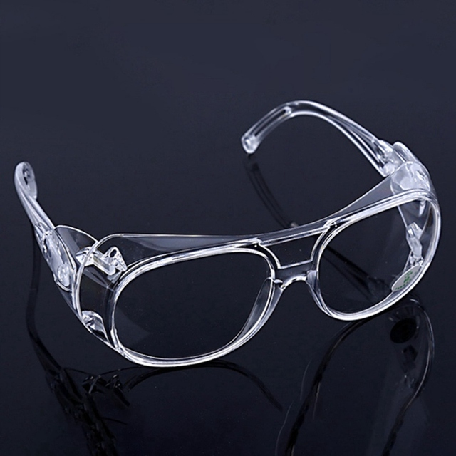Clear Eyewear Safety Glasses Anti Splash Impact Resistant Working Safety Goggles For Home Dentist Eyes Protection transparent