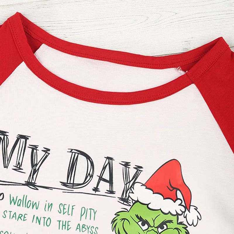 04a82efecd06bb ... Adult Christmas Grinch T-Shirt Lady Long Sleeve Tops XMAS Party Gift  S-2XL ...