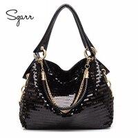 SGARR Luxury Women PU Leather Handbags New Fashion Small Ladies Crocodile Tote Bag High Quality Female