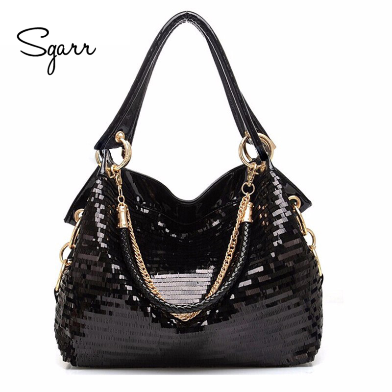 SGARR Luxury Women PU Leather Handbags New Fashion Small Ladies Crocodile Tote Bag High Quality Female Crossbody Shoulder Bag