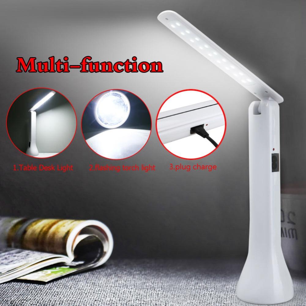 Reasonable White Diffuser Design Foldable 2in1 Powerful Led Flashlight Table Desk Reading Light Lamp Torch Us Plug Indoor/outdoor Lights & Lighting Led Flashlights