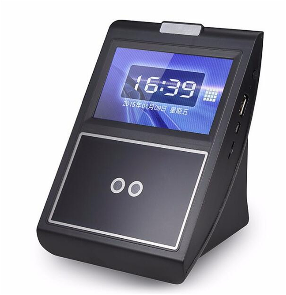 4.3 Inch Face Recognition /Fingerprint Time Attendance Network Access Control System