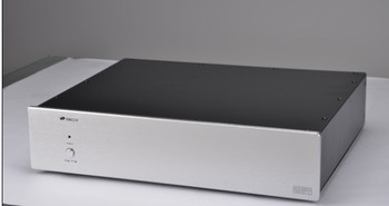 DAC-E aluminum panel iron shell DAC decoding chassis / AMP shell / case / DIY box (430 * 95 * 340mm)