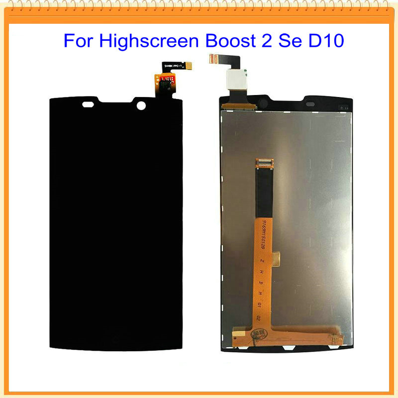 For Highscreen Boost 2 Se For Innos D10 version 9169 9267 LCD Display with Touch Screen