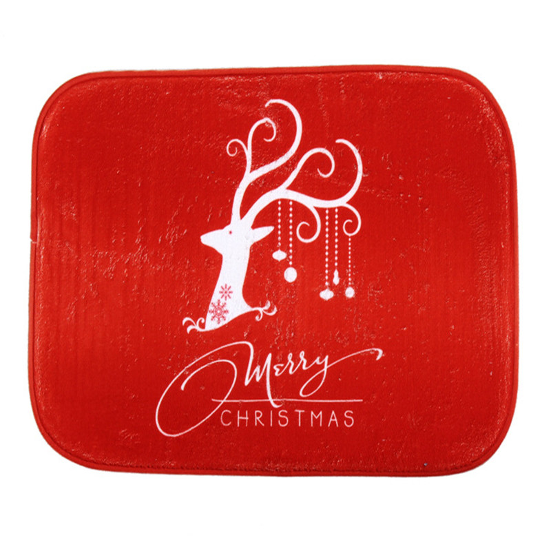 New Chrismas Gift Memory Foam Cartoon Snowman Santa Mat Doormats Area Rug Kitchen Rugs For Christmas Decoration Bathroom Floor