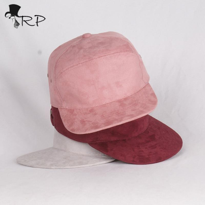 Corduroy Suede Brand Blank 5 Panel Caps Hip Hop Hat Bone Bobby Five Panel  Snapback Baseball Cap For Men Women Flat Hat Casquette 3048d52d293c
