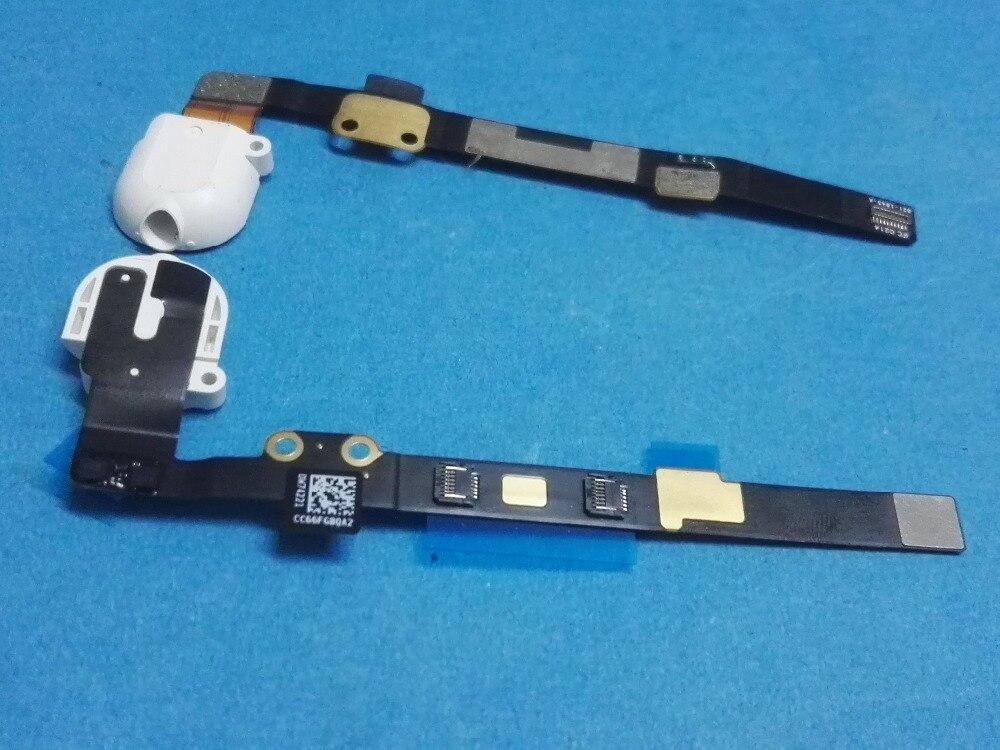 Headphone Audio Jack port Flex Cable Ribbon for ipad mini 3 2 A1599 A1600 A1489 A1490 mini3 mini2 earphone white black