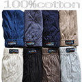 10PCS 100% cotton men's underwear antibacterial prevent exposed breathable underwear Cotton  big yards wholesale underwear NS016