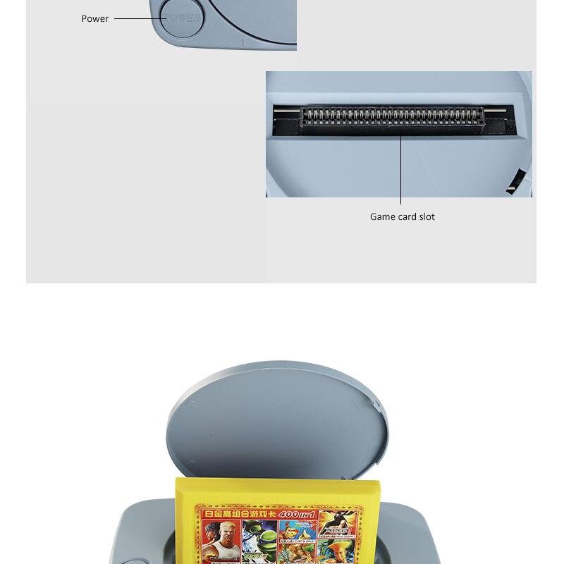 console de jogos de vídeo 400 jogos suporte consoles de jogos