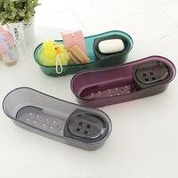 Bathroom supplies shelf soap holder soap box storage