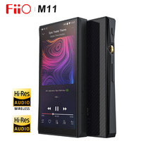 FiiO M11 HIFI аудио на базе Android Bluetooth без потерь Портативный музыкальный плеер MP3 USB ЦАП WI FI/Air Play/Spotify aptx HD/LDAC DSD