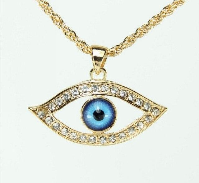 Griego mal de ojo collar con colgante amuleto de la buena - Quitar mala suerte mal ojo ...