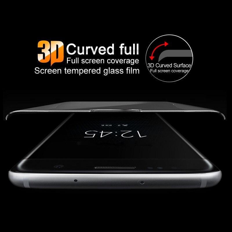 Imak Anti-Explosion 9 H 3D Courbe Pleine Couverture En Verre Trempé Pour HTC U11 Écran Protecteur pour HTC U 11 U11 3D Verre Film