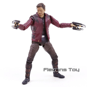 Image 2 - SHF Star Lord  Avengers Infinity War Guardians of Galaxy PVC Action Figure Collectible Model Toy