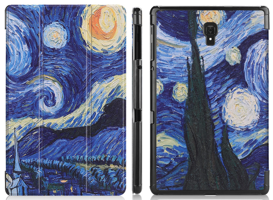 Case For Samsung Galaxy Tab A 10.5 2018 T590 T595 Smart Cover Case For Samsung Tab A2 10.8 SM-T590 SM-T595 Tablet Funda