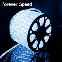 50 Meter COLD White LED Strip Lights Tape Lighting Christmas Light Led 220V With EU Power Plug Waterproof Decoration Outdoor