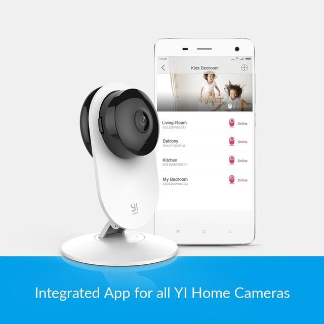 YI Home Camera 1080p AI Powered Baby Monitor FHD Human Detection Security Surveillance Night Vision Cloud International Version 2