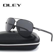 OLEY Unisex polarized Sunglasses Men luxury brand Women Retr