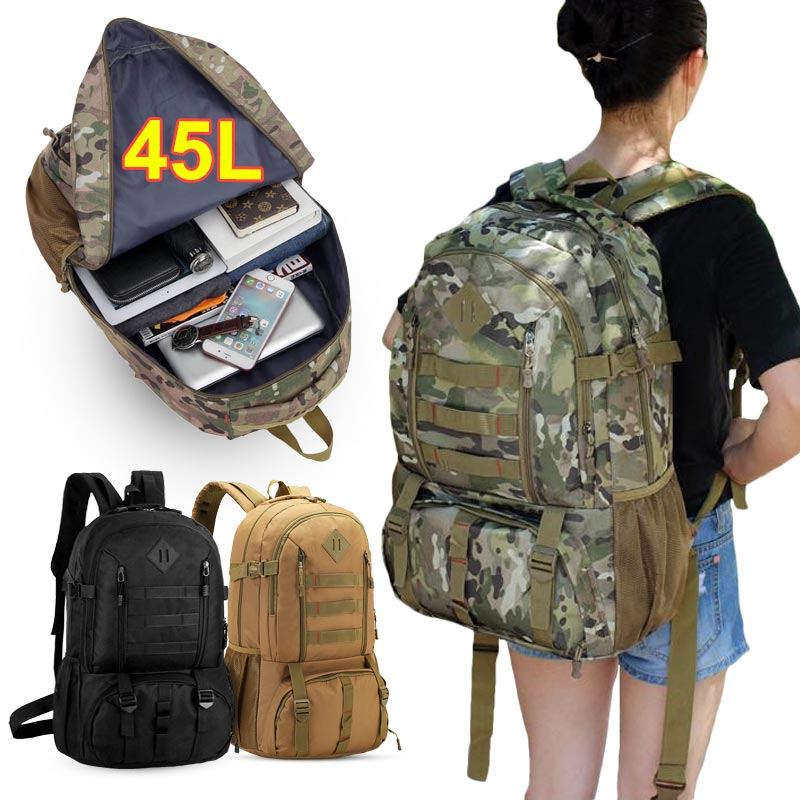 Military Tactical Backpacks Men Sport Back Pack Outdoor Climbing Hunting Bag
