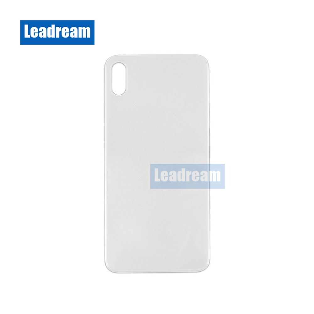 30PCS Big Camera Hole Back Glass Full Housing Back Battery Door Battery Cover with Adhesive for