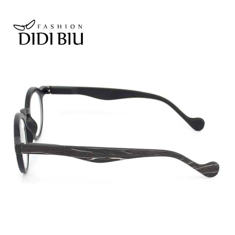 81fcc801bace9 Rodada Madeira Óculos De Leitura Multifocal Progressiva Hipermetropia  Presbiopia Óptico Óculos Dioptrias + 1.0 A + 3.0 Para Vista HN870 em Óculos  de Leitura ...