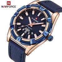 2018 NEW NAVIFORCE Luxury Brand Men S Quartz Watches Men Fashion Casual Leather Sports Watch Man