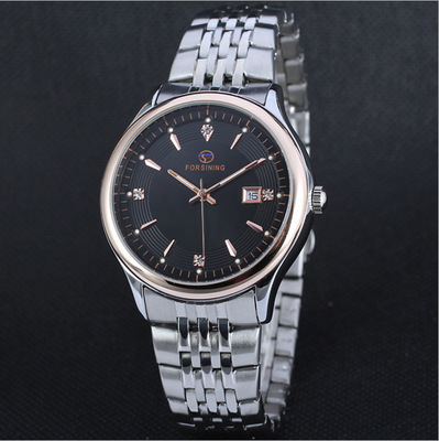лучшая цена The flywheel man automatic mechanical watch strip male table