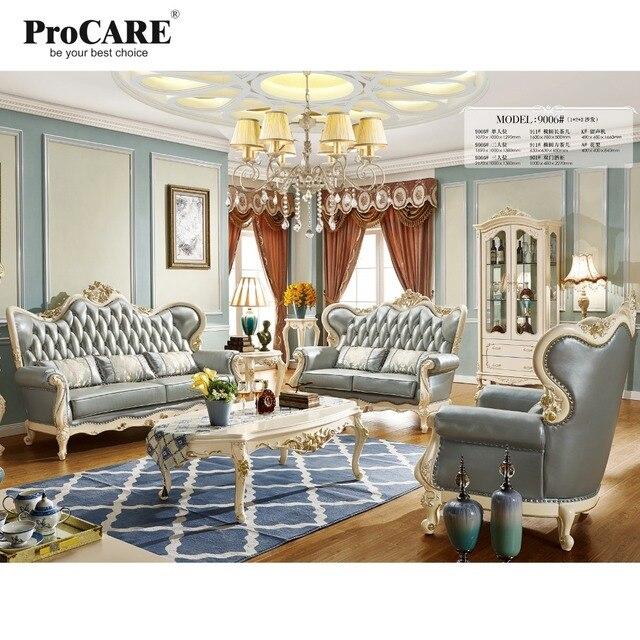 US $3713.0 |Eccellente design moderno in vera pelle divano componibile,  divano set mobili soggiorno divano in pelle divano 1 + 2 + 3 divano set in  ...