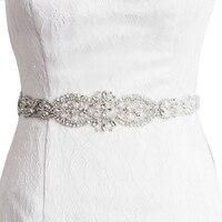 S234 IN STOCK FREE SHIPPING Wedding Bridal Belts Sash Crystal Beading Bridal Dress Accesories Sash Fast