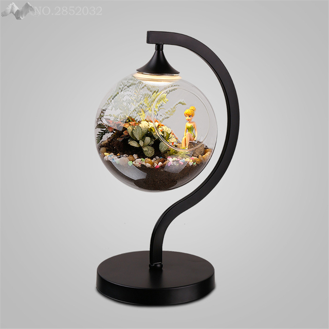 2017 modern led table lamp glass lampshade desk night light creative 2017 modern led table lamp glass lampshade desk night light creative plant appreciation lamp for home aloadofball Image collections