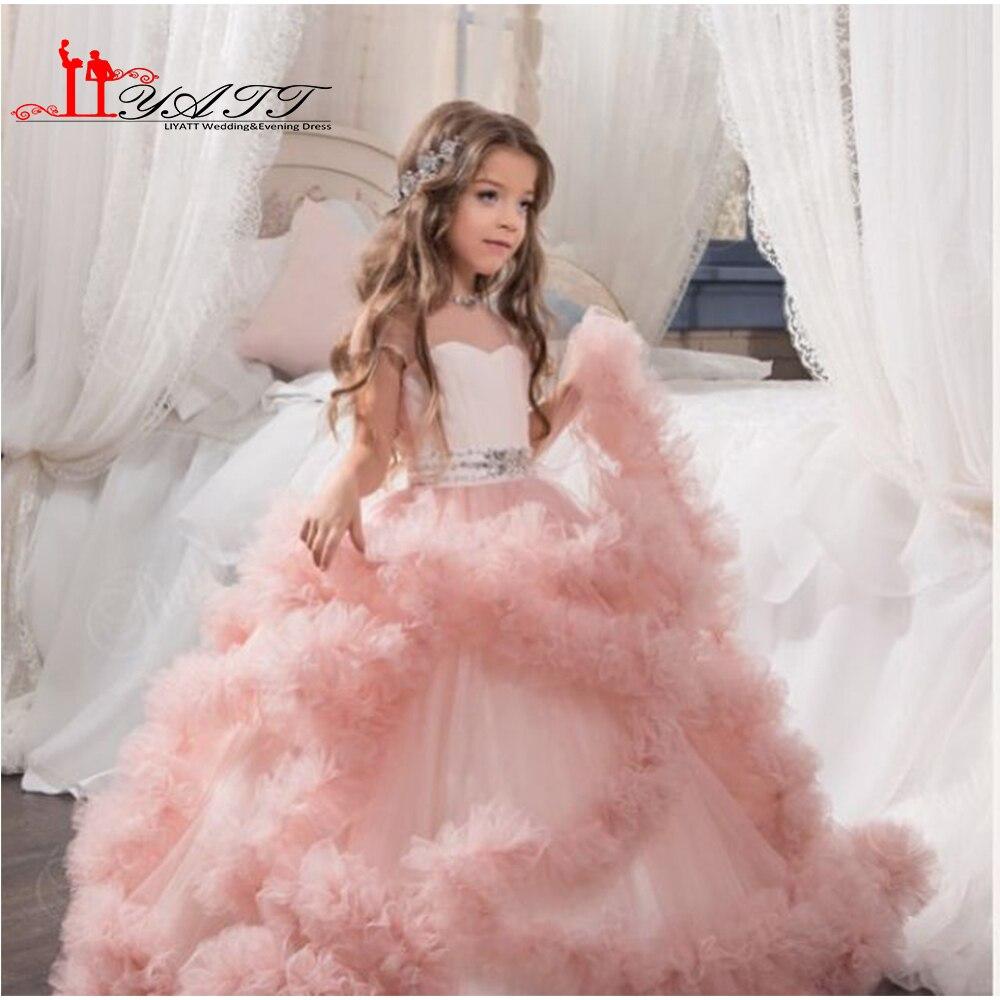 Nube de little flower girls vestidos para bodas vestidos Del Partido ...